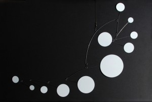 wiese kinetic calder style mobile